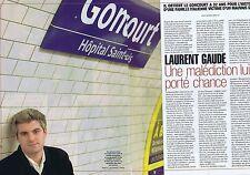 COUPURE DE PRESSE CLIPPING 2004 LAURENT GAUDE    (2 pages)