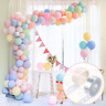 FRETOD Pastel Party Balloons 100Pcs Balloon Garland Kit with15M Balloon Chain,
