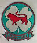USMC Original vintage Squadron patch  HMM-363 LUCKY RED LIONS VIETNAM ERA