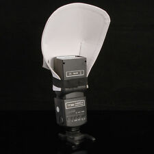 Flash Bounce Diffuser Reflective Reflektor für Canon Nikon Yongnuo Viltrox Blitz