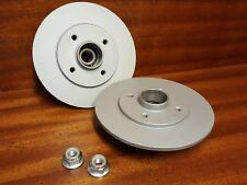 RENAULT 5 GT TURBO NEW REAR BRAKE DISCS INCLUDING BEARINGS FITTED