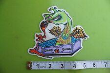 New listing Coffin Wings Dead Artist Von Franco Pop Art Surfing Skateboarding Racing Sticker