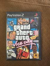 Grand Theft Auto Vice City Rockstar Games Playstation 2 PS2