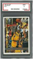 1997-98 TOPPS KOBE BRYANT #171 SECOND YEAR~ BSG Graded 9