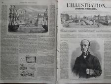 L'ILLUSTRATION 1861 N 975 M. VINCENT BENEDETTI, MINISTRE DE FRANCE, A TURIN
