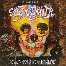 VERY BEST OF AEROSMITH HITS Original Audio Music CD Rock Brand New UK Release