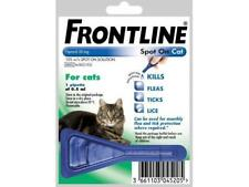 FRONTLINE SPOT ON CAT for Cats - 1 or 3 or 6 pipettes - BEST PRICE!! ON EBAY NEW
