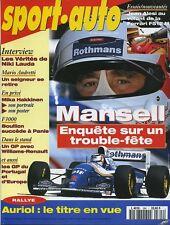 SPORT AUTO n°394 NOVEMBRE 1994 GP PORTUGAL GP EUROPE FERRARI 512M NISSAN 200SX