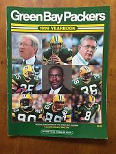 Green Bay Packers NFL 1999 Yearbook Brett Favre