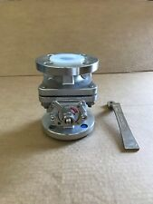 """stainless steel pfa lined ball valve 1 1/2"""" 150# flanged"""