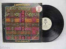 Crowfoot - Find The Sun - ABC PROMO ABCS 745 LP Vinyl Record EX