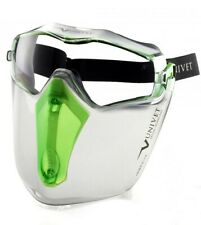 Mechanical work | Safety Goggles Clear Anti Scratch + Face Visor 6X3 | UNIVET
