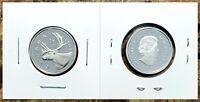 Canada 2004 Silver Proof Gem UNC Twenty Five Cent Piece!!