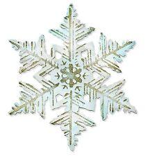 Sizzix Bigz Layered Snowflake & Emboss die #660040 Retail $24.99 Tim Holtz!!