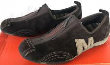 Merrell Barrado Leather Chestnut J76110 Zip Brn Suede Sneaker Shoes Women's 7.5