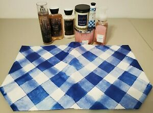 Bath & Body Works 2019 Black Friday Gingham Tote Bag With Contents 8 Pieces