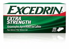 Excedrin Extra Strength Pain Relieving Caps, 100 Each