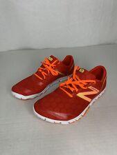 New Balance Minimus Men's Size 10.5 Red Running Shoes Vibram Sole