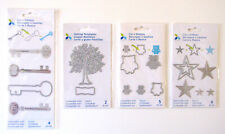Momenta Cut and Emboss Scrapbooking Cutting Dies Stars Owls Trees Keys Craft LOT