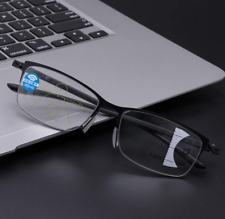 Progressive Multifocal Intelligent automatic zoom reading glasses anti-blue ray