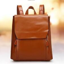U61 women real leather Laptop Messenger handbag Backpack Rucksack travel Bag