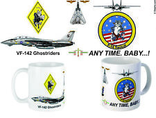 "VF-142 ""Ghost Riders"" F-14 Mug"