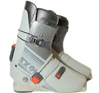 Vintage Salomon SX91 Gray Rear Entry Downhill Ski Boots Size 340-45