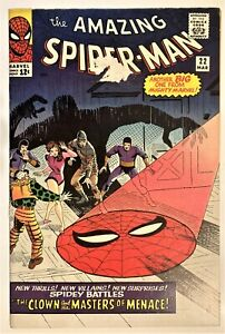 AMAZING SPIDER-MAN 22 F/VF OW/W pages 1965 - 1st Appearance of Princess Python!