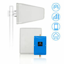 4G LTE 700MHz AT&T/Verizon Cell Phone Signal Booster Repeater Amplifier Antennas