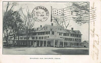 Sharon Inn, Sharon, Connecticut, Early Postcard, Used in 1907
