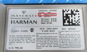 Maserati VP4 8.4 touch screen Harman Radio Anti Theft Unlock Code Service