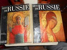 ARTS DE RUSSIE / 2 VOLUMES NAGEL 1968 / Art Russe