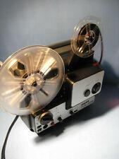 Super 8 mm Film Projektor Bauer T18 Sound für 180 m.Spulen-films Projector