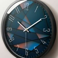 Wall Clock Home Decoration Watch Quartz Round Classic Thick Resin Time Gears New