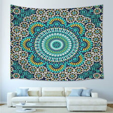 NEW turquoise Twin Mandala Tapestry Dorm Room Decor Bohemian Wall Hanging Art