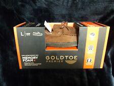 New Gold toe premier Size L Men's Memory Foam Slippers