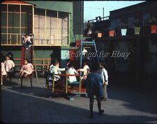 Santiago Chile South America Childrens Playground Aug 1963 KODACHROME SLIDE