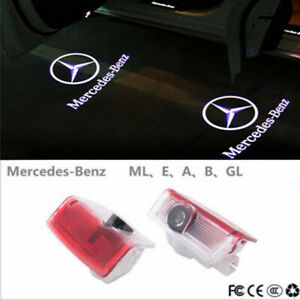 LED Door Courtesy logo Light Ghost Shadow Laser Projector For Mercedes-Benz