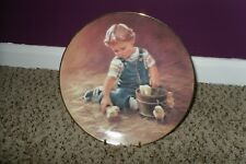 "Hamilton Collection Plate ""Special Friends"" The Magic of Childhood #I02398 Nice"