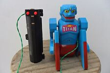 Rare Titan the Tumbler Robot Cragston Toys Bat. Oper. Made Japan 1960's