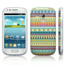 Patterned Aztec Silicone Slim TPU Gel Back Case Cover For Samsung Galaxy S3 Mini