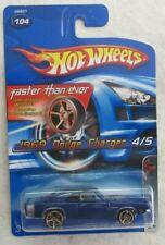 2005 Hot Wheels Fte más Rápido Que Ever 1969 Dodge Cargador 4/5 Diecast Coche