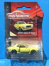 MAJORETTE VINTAGE SERIES TOYOTA CELICA GT COUPE YELLOW JDM 70s CLASSIC