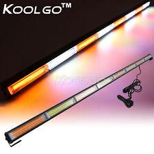 """45"""" 144W COB LED Emergency Traffic Hazard Flash Strobe Light Bar Warning 12V/24V"""