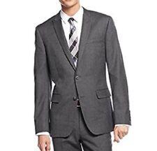 Abrigos y chaquetas de hombre grises, 100% lana, Talla 42
