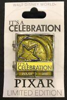 Disney Pixar Celebration Countdown Joy Sadness Inside Out LE 750 Pin New on Card