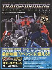 Transformers Collection 2009 Figure Book