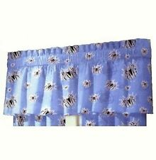 Spiderman 3 the Movie VALANCE CURTAIN WINDOW TREATMENT Color Blue ~NEW~