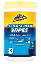 ARMORALL SCREEN WIPES COMPUTER MONITOR PHONE LAPTOP IPAD LCD LED PLASMA TV CLEAN