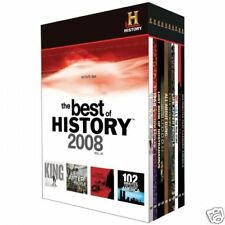 NEW FACTORY SEALED The BEST of HISTORY CHANNEL 2008 Vol IV 10 DVD SET